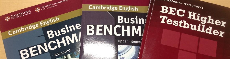 BEC Preliminary / Vantage / Higher.